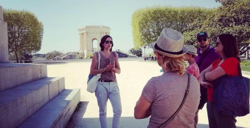 Visite guidée Visit'insolite centre historique Montpellier