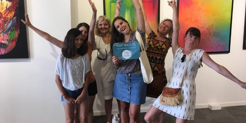 Lancement Visit'insolite Montpellier
