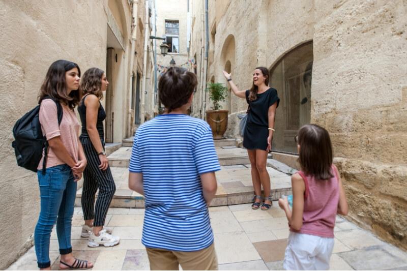 Ruelles de Montpellier Visit'insolite